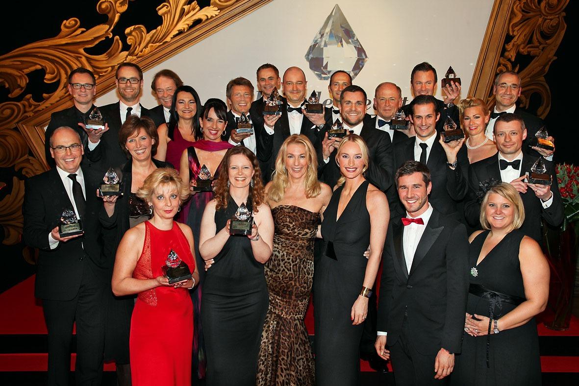 Veranstalter und Gewinner des Prix de Beauté 2011