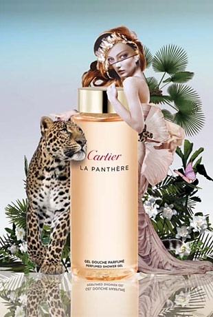 Cartier – La Panthère Perfumed Body Lotion & Shower Gel
