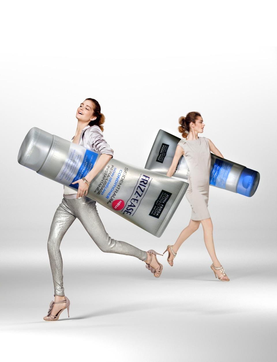 John Frieda - frizz-ease seidentraum shampoo & conditioner