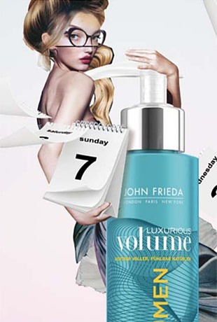 John Frieda – Luxurious Volume 7 Tages Volumen